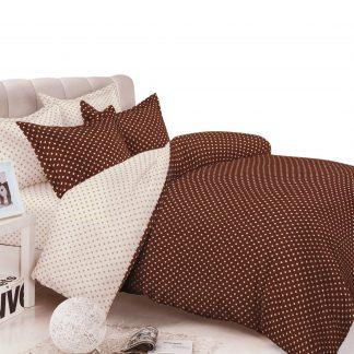 Lenjerii de pat Sofy, din bumbac satinat, 7 piese, pentru 2 persoane